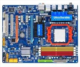 Placa socket AM3/AM2+ GA-MA790X-UD4P GIGABYTE PARA COMPUTADORA