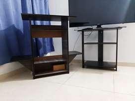 combo mesas para tv ×2