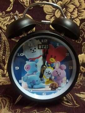 Bt21 Bts Reloj Despertador Kpop Army Fan