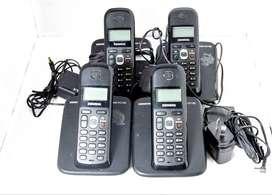 TELEFONOS SIEMENS GIGASET AS 180 x4