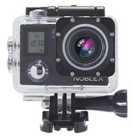 Cámara deportiva NOBLEX tipo Go Pro 4K ULTRA HD Pantalla dual