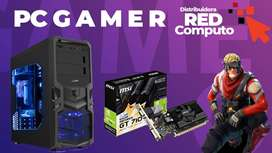 COMPUTADOR GAMER - RAM 10GB-DISCO 1 TERA +GRÁFICA 710+MONITOR LED 19