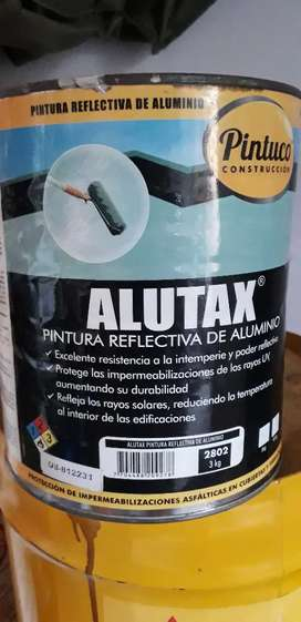 PINTURA REFLECTIVA ALUTAX