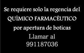 QUIMICO FARMACEUTICO