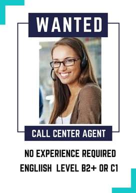 AGENTE CALL CENTER BILINGUE