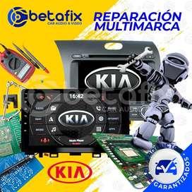 REPARACIÓN DE RADIOS DE AUTO ORIGINALES KIA BETAFIX DESDE