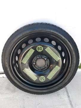 Vendo rueda auxilio audi