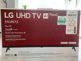 "TELVISOR LG 55"" UHD 4K SMART (INCLUIDO CONTROL MAGIC)"