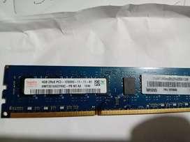 Memoria ram PC3 DDR3 de 4GB   12800u-11  para PC de escritorio en 23$ con entrega a domicilio
