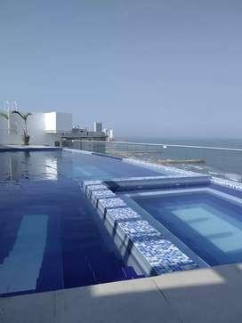 Hermoso Apartamento con vista al mar en crespo Cartagena