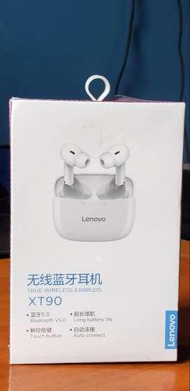 Lenovo Bluetooth Audifonos XT90 TWS (sellado)