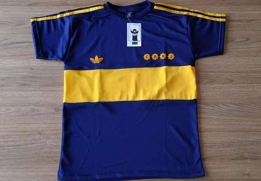 Camiseta Retro Boca Juniors 1981 - #10 Maradona 0