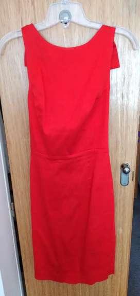 Las Oreiro vestido de fiesta rojo oferta