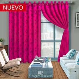 Vendo hermosas cortinas