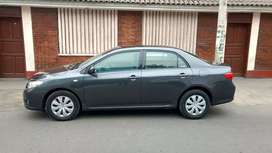 Toyota Corolla año 2008 gasolinero automático