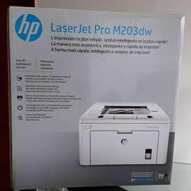Impresora hp M203 DW