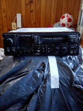 VENDO LOTE DE 2 RADIOS PASACASSETE PHILCO + 1 RADIO REP.CD JVC-40Wx4, 1 RADIO REP.CD PIONNER 45Wx4, 1RADIO REP.CD FIAT, usado segunda mano  San Martín de las Escobas, Santa Fe