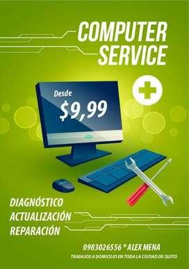 Servicio técnico para laptops y pc's de escritorio