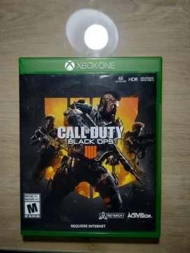 Call of Duty Black ops 4 físico usado