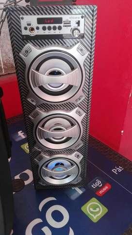 Torre Bluetooth Fm Y Memoria