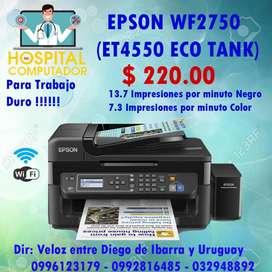 Impresora Epson Wf2750(et4550) Tanques