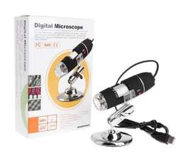 Microscopio Electrónico Digital Luz Led Usb 1600x