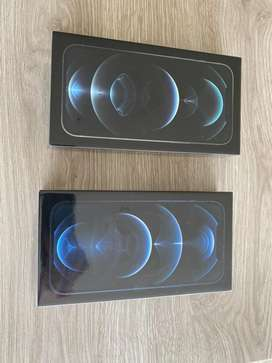Vendo iphone 12 pro max de 128 gb en color silver y pacific blue