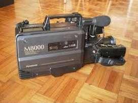 FILMADORA - VHS - PANASONIC - M 8000 - EXCELENTE - MUY BUENA
