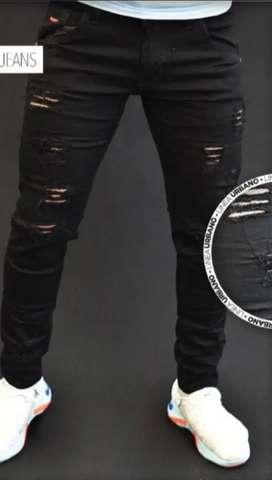 Jeans hombre licrado