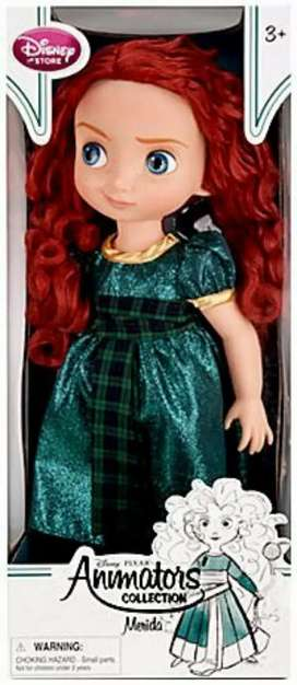 Disney / Pixar Animators' Collection Merida Doll - 16 ''- Nueva - Original