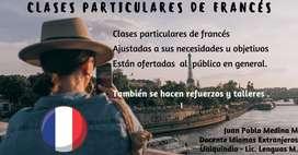 Clases de Francés para todo el publico.