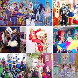 Show infantil Animadora / Payaso / muñeco y bailarinas