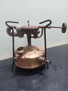 Antiguo calentador de bronce marca PRIMUS