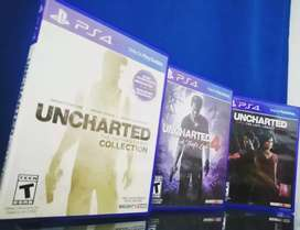 Uncharted 4,colección y the lost legacy