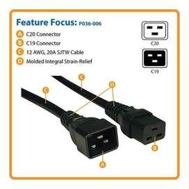 Cable de alimentación Tripp-Lite 12AWG 20A 250V 1.83mts. P036-006