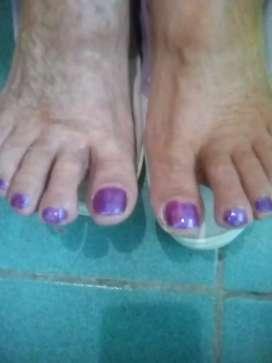 Pedicuria belleza de pies