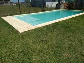 Terreno con piscina. Campiñas de Piñero