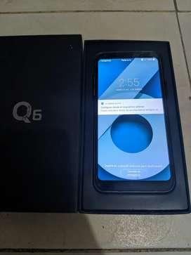 LG Q6 como nuevo en caja