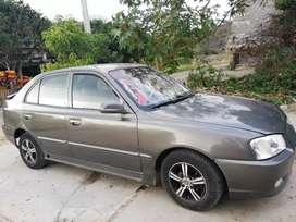 Hyundai accent 2002 sin a/c