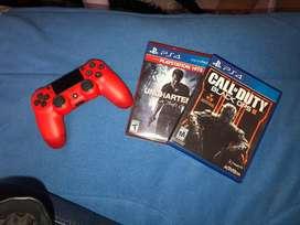 Control y dos juegos