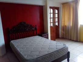 Salamanca de Monterrico.Alquiler habitacion sólo para señoritas.r habita