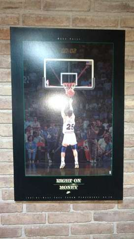 Cuadro Póster Nba Mark Price Marca Nike