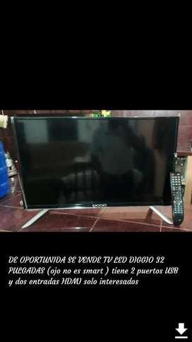 Vendo Tv Led Diggio 32pulgds