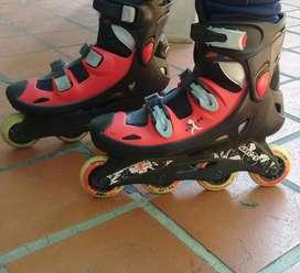 Rollers Ezlife Abec 5 Nro 40 Ruedas 72mm