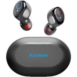Audífonos Kurdene Inalámbricos con Bluetooth, IPX8, Deportivos