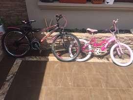 Bicicletas de niñas