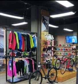 Muebles tienda de bicis