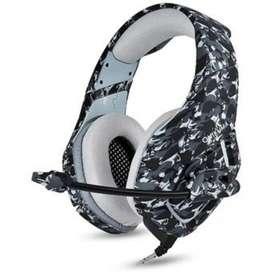 Auriculares Onikuma K1b Gamer-ps4-micrófono Xbox One/laptop.