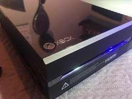 Xbox one 500gb + control + 6 juegos