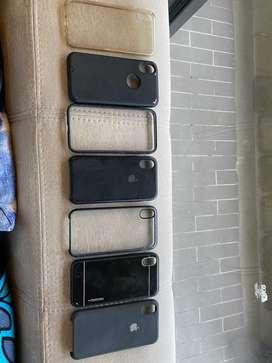7 carcasas usadas para Iphone X \ XS